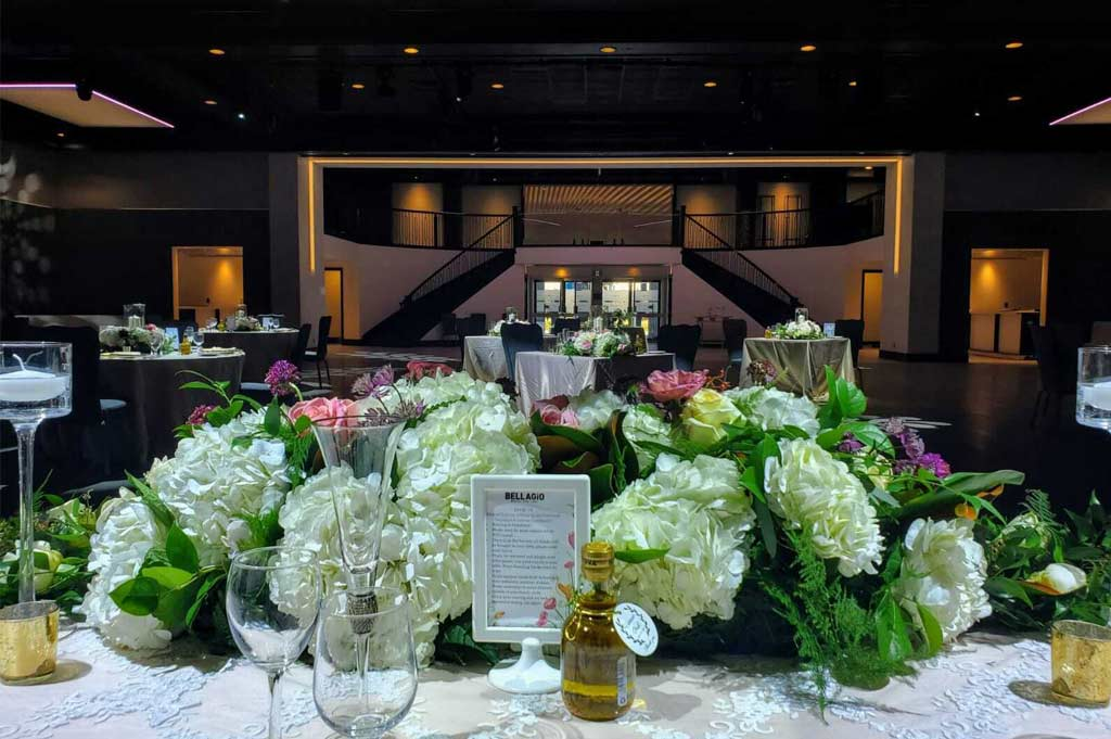Bellagio Boutique Event Venue Packages